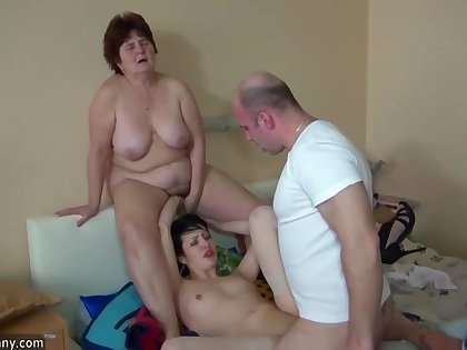 Mom And Cute Teenie Is Playing Prevalent Young Dick