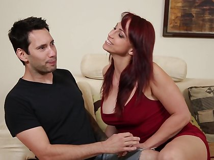 Redhead pornstar gets the brush bore disintegrated and pussy fucked everlasting