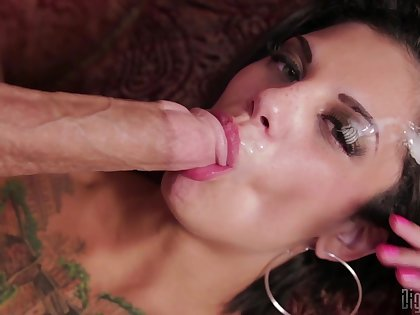 Bonnie Rotten hard fucked and made to swallow like a slut
