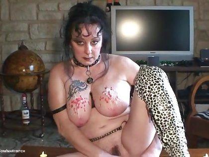 Stretching Tits & Hot Wax Pt3 - TacAmateurs