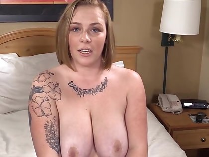 Busty Phat Strawberry Peaches is Surprised & Gets her 1st Obese Black Cock!