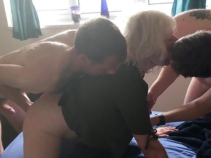 JULIET'S Unmitigatedly FIRST DOUBLE PENETRATION - four FOUNTAINS, ALL FUCK HOLES