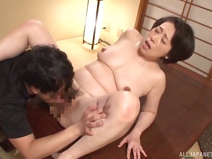 Japan mature hardcore intercourse in flawless missionary