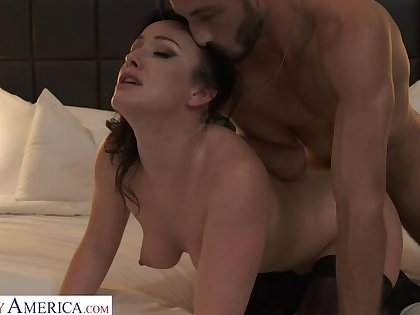 Jennifer White shows arch timer a good time with their way hot conclave