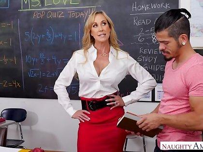 Teacher Brandi Love really cares...if you essay a big gumshoe