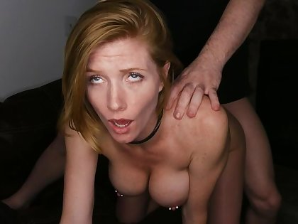 Erotic Redhead About Eroded Nipples Enjoys Rough Sexual congress