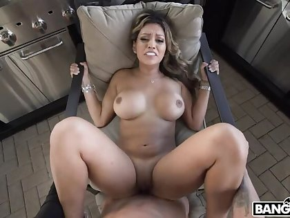 Nicole Ray Gets Her Latin Pussy Creamed